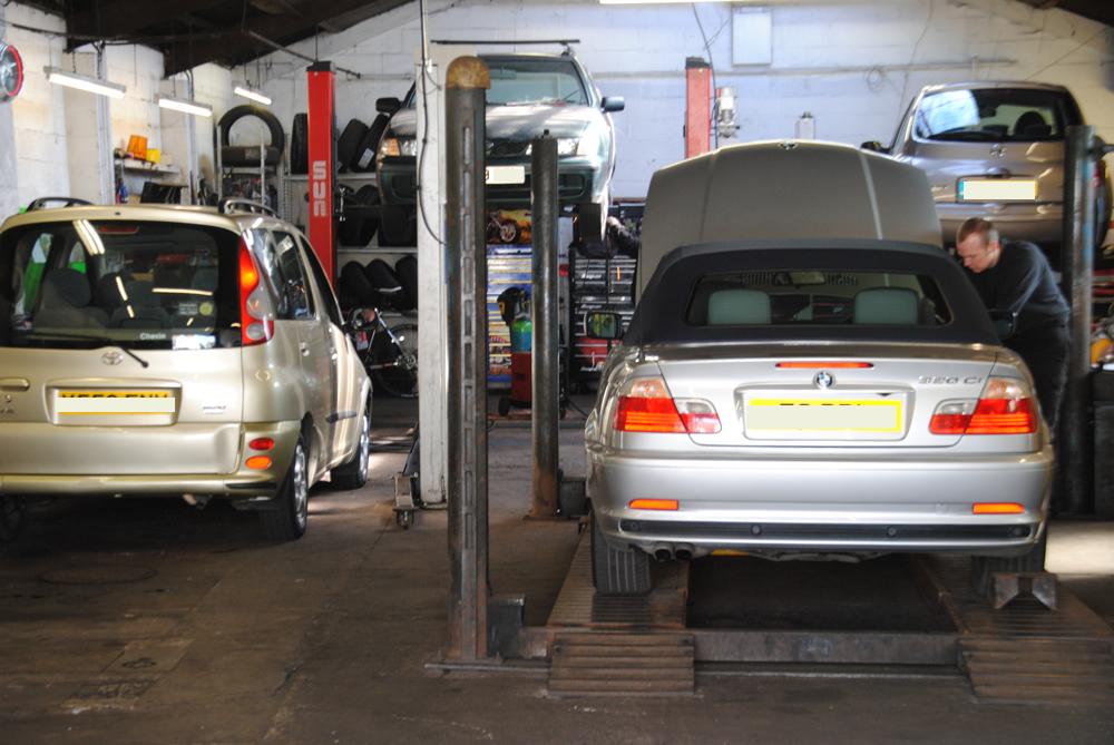 Car Servicing - Shenley Road Garage
