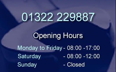 opening hours shenley road garage dartford