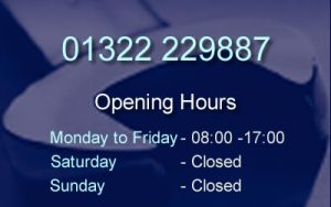 Shenley Road Garage Opening Hours